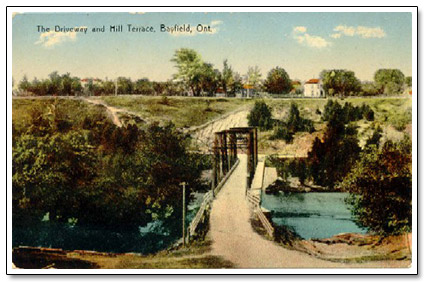 Bayfield Bridge 1904 Postcard