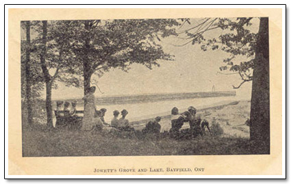 Bayfield Jowett's Grove Postcard