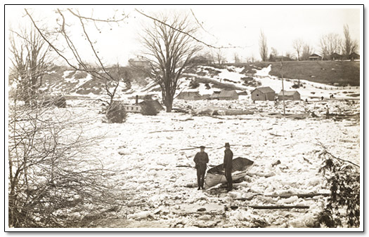 Bayfield 1904 Frozen Flood